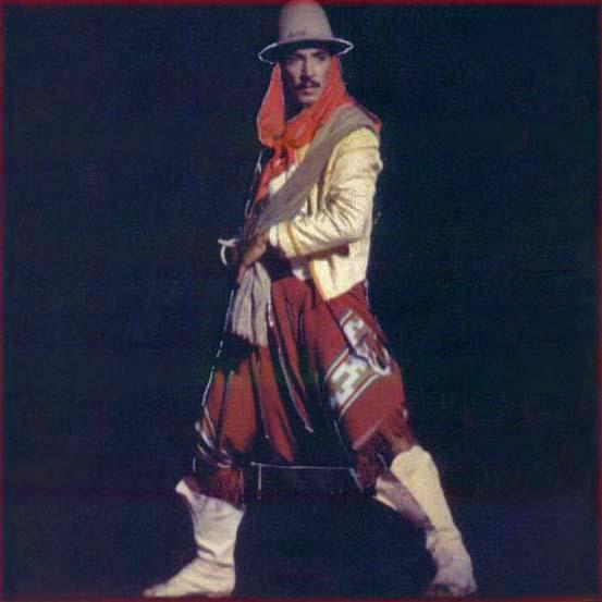 Omar-Gaucho Costume